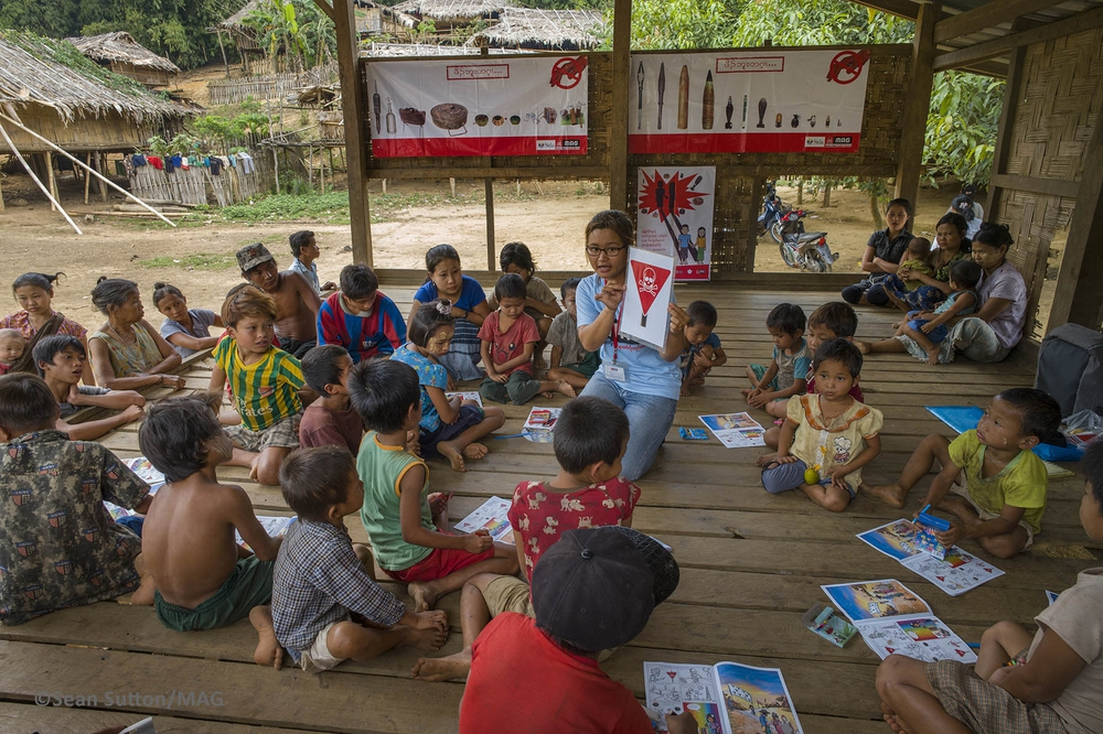 MAG teams delivering MRE in Myanmar