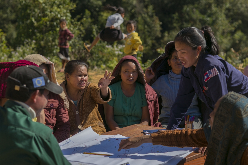 MAG teams in Laos work on behalf of and in collaboration with the local communities