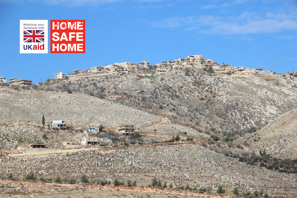Majdal Balhis sits just 60 miles outside of Beirut in Lebanon