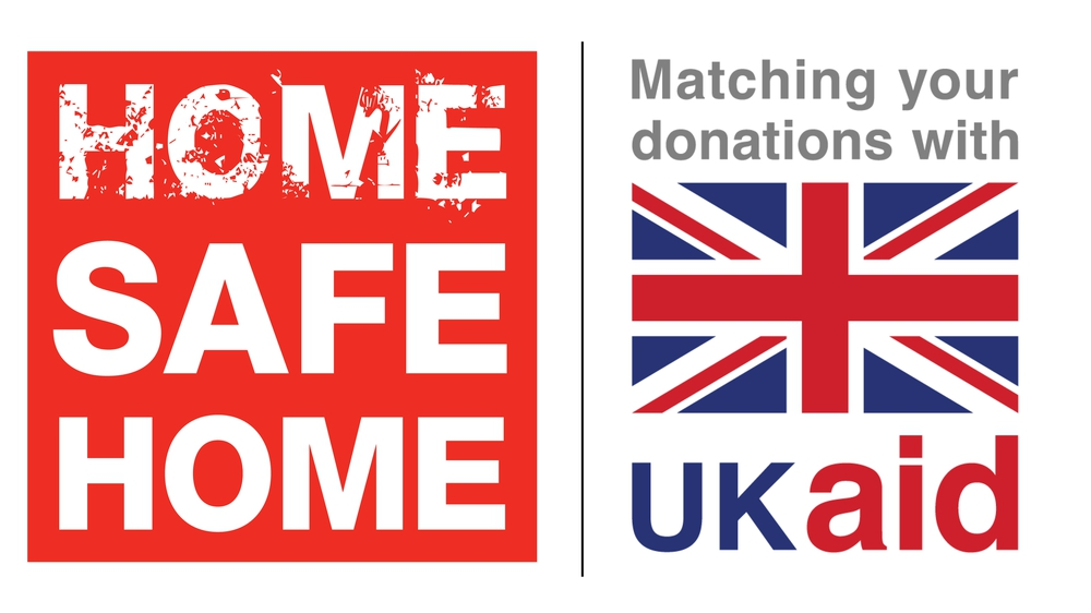 MAG's Home Safe Home appeal is conjunction with UK Aid Match